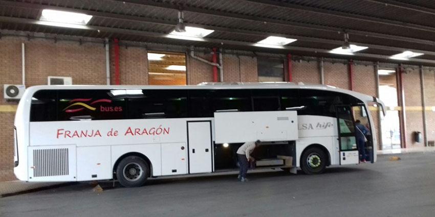 Millora el servei de la línia de BUS Fraga-Lleida