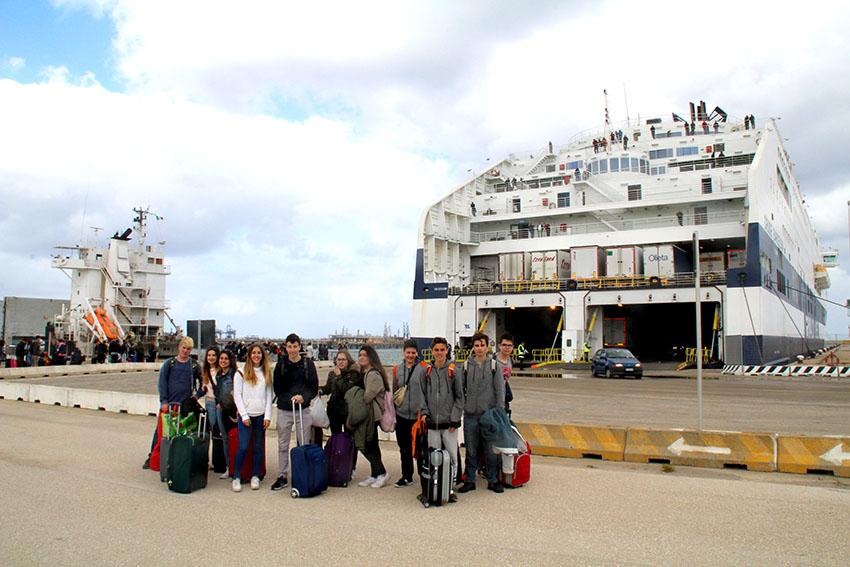Els alumnes de català del Matarranya viatgen a l'Alguer