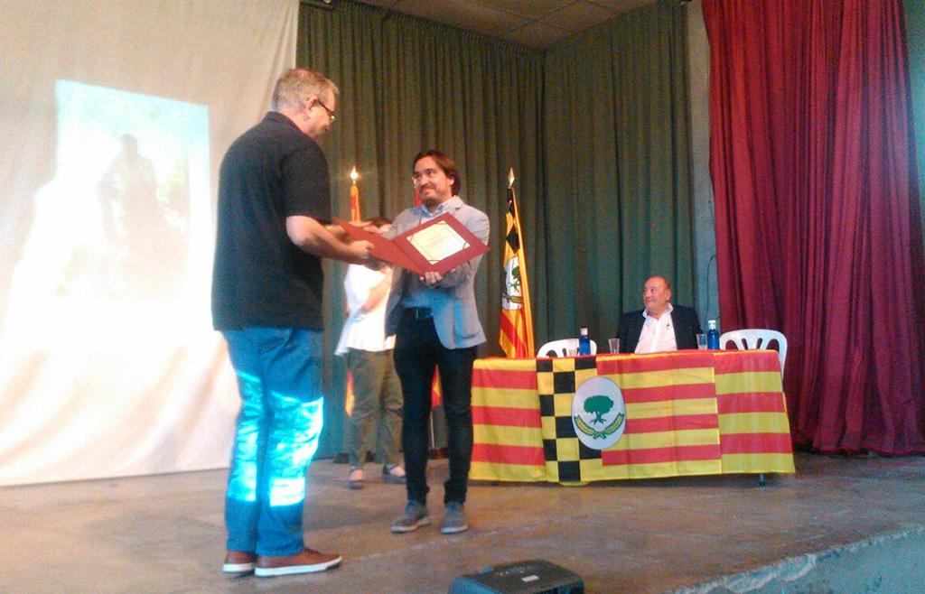 El Campell acollí el lliurament del Premi Desideri Lombarte 2017