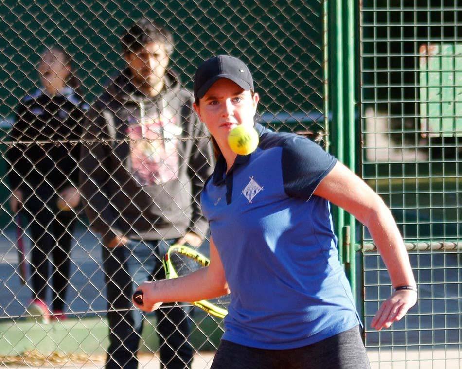 Èxit de la tenista mequinensana al Màster de Lleida