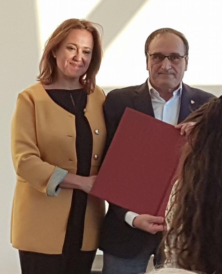 Acte de lliurament dels premis literaris  del Govern d'Aragó