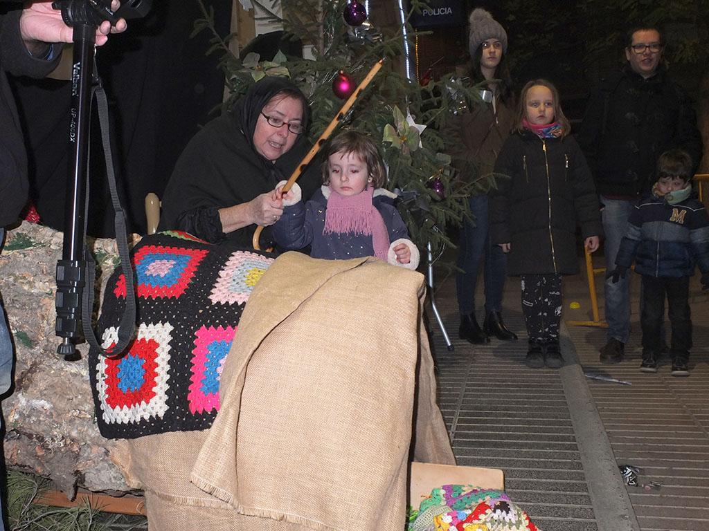 Lo Tronc de Nadal a Fraga