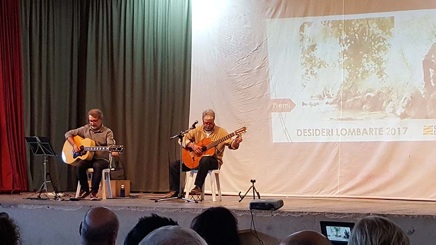 Concert d'Anton Abad a Alcampell