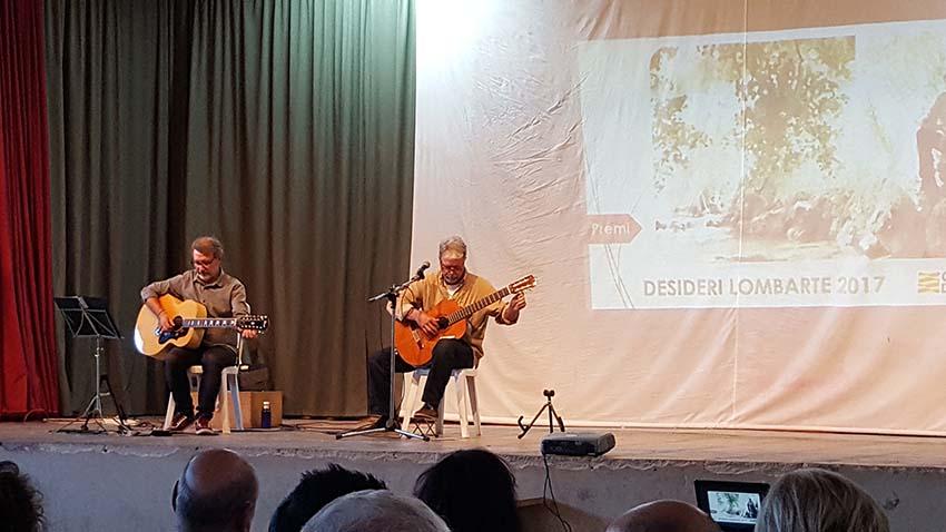Concert d'Anton Abad a Alcampell