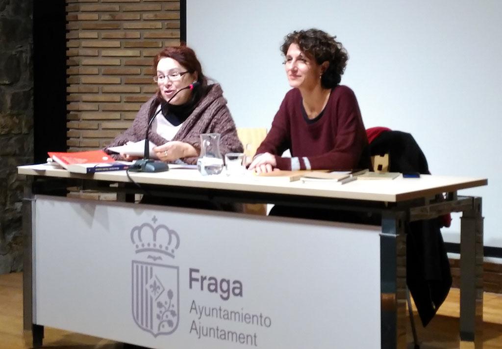 Conferència de Marina Garcés a Fraga
