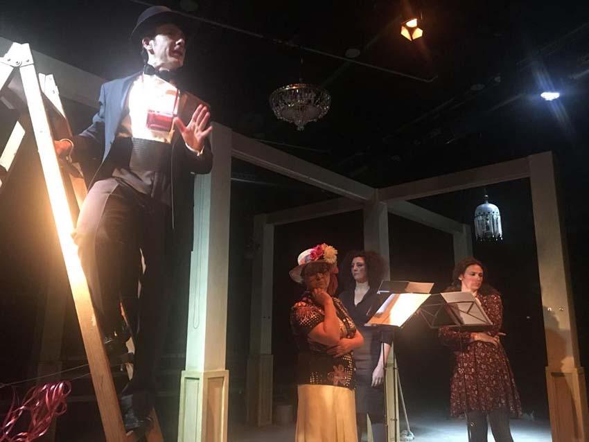Presentació de l'obra teatral 'La Pèrdua' de Marta Momblant Ribas