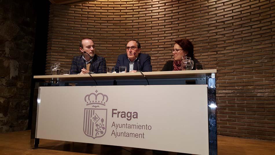'Espills trencats' es presenta a Fraga