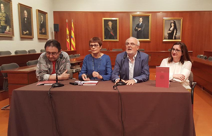 """Merche Llop presentà a Saragossa el seu poemari """"Esclat"""""""