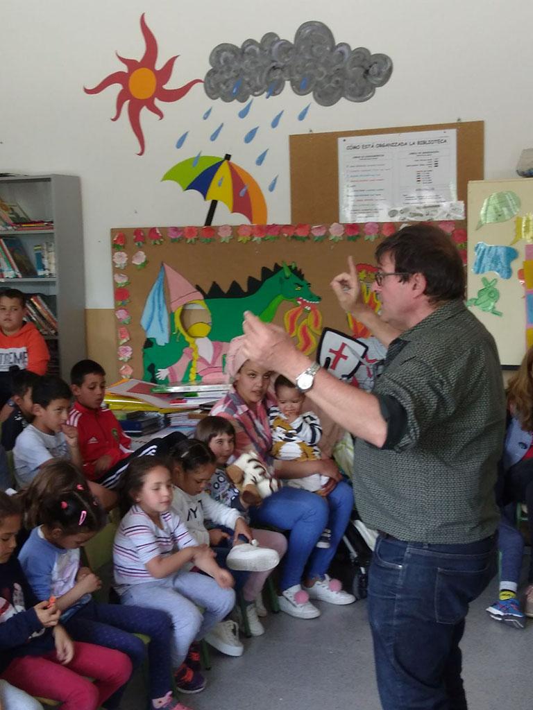 Autors a les aules al CRA la Ribera de Cinca