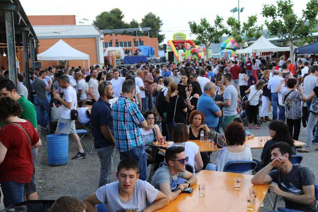 V Fira de la Cervesa Artesana i del Producte Agroalimentari el 26 de maig a Mequinensa