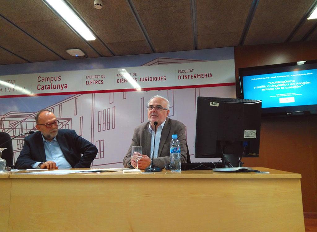 La URV acull un seminari sobre polítiques lingüístiques a Aragó