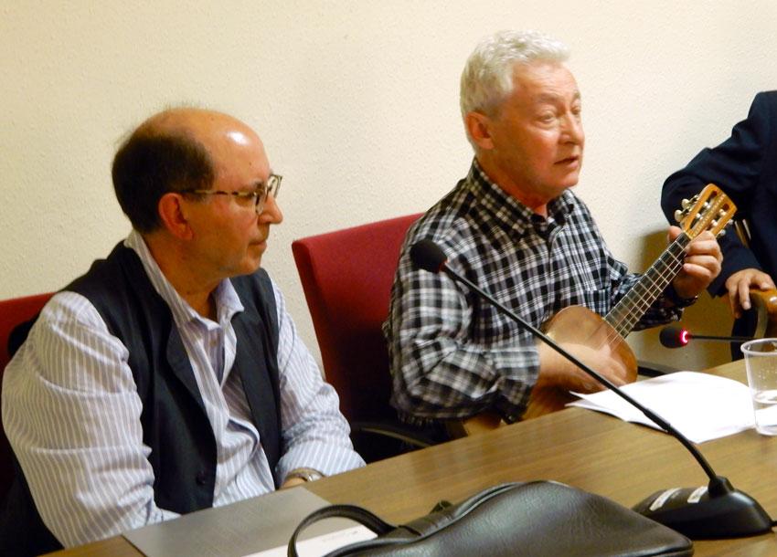 Presentació del llibre d'Àngel Villalba a Favara