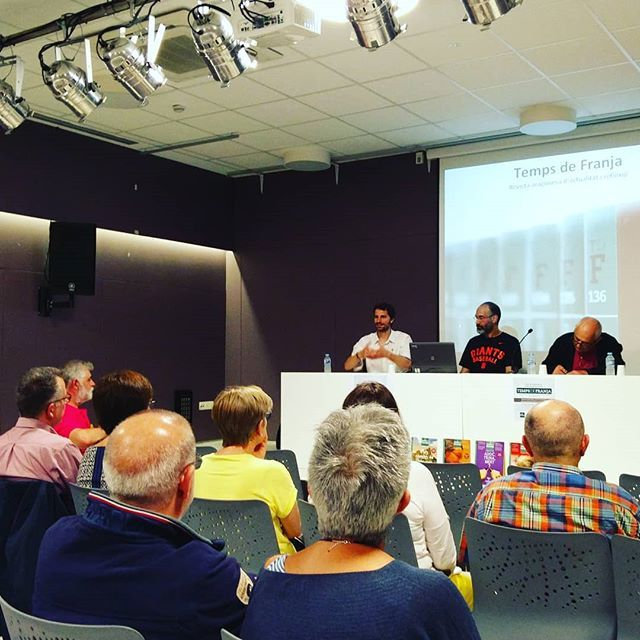 Presentació de 'Temps de Franja' a Girona