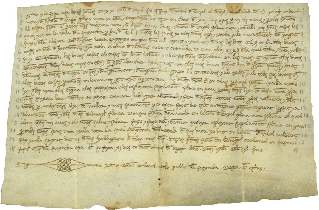 El català del Matarranya al segle XIV*