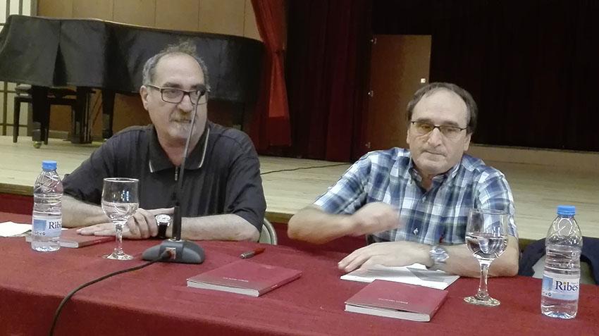 Espills trencats, presentat al Centre Aragonès de Barcelona