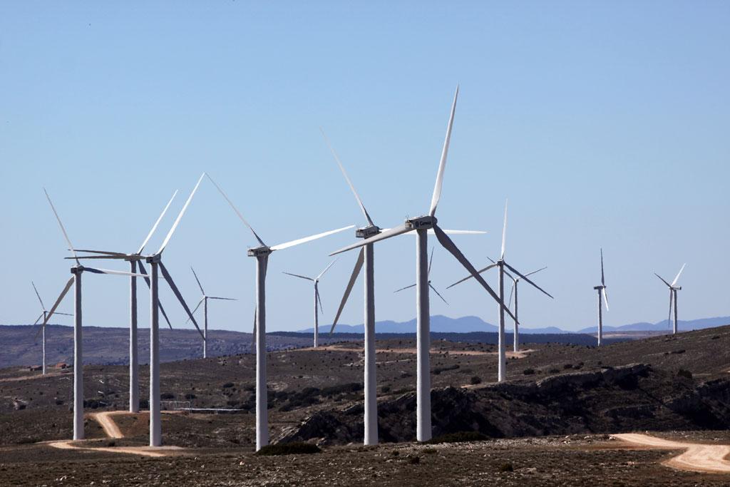 El Govern d'Aragó autoritza la construcció de 53 projectes eòlics