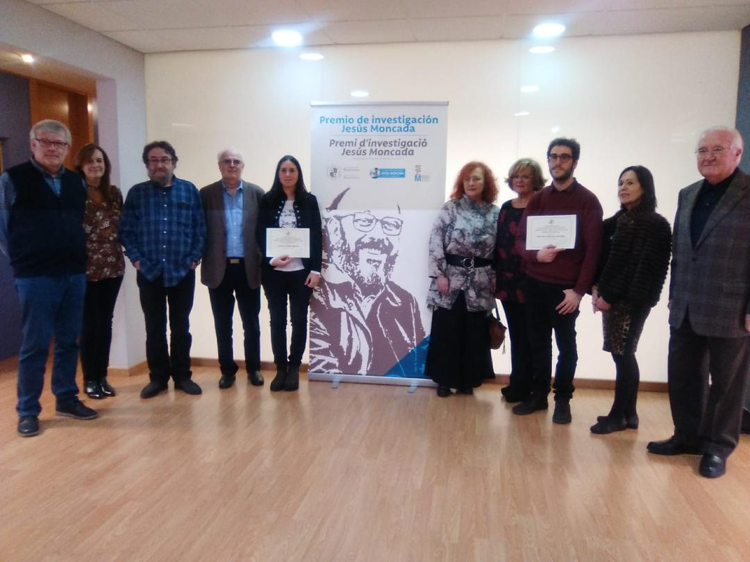 I Premi d'investigació Jesús Moncada