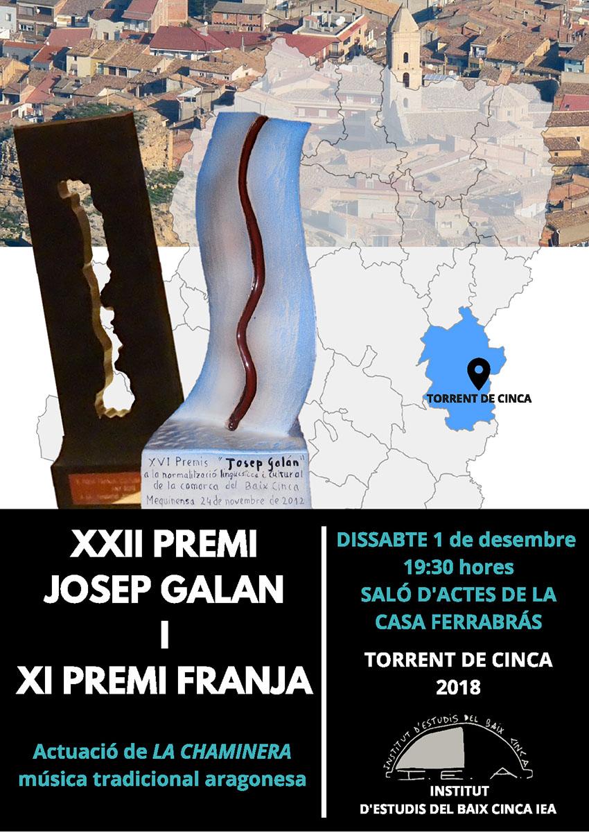 Gala 2018 de l'Institut d'Estudis del Baix Cinca