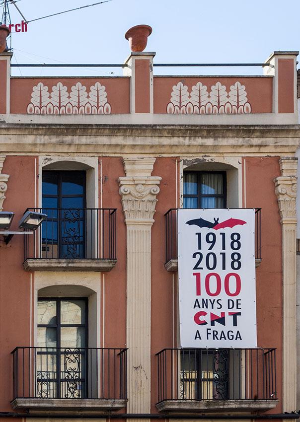 Memòria llibertària a Fraga