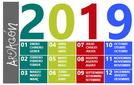 Calendari musical aragonès 2019