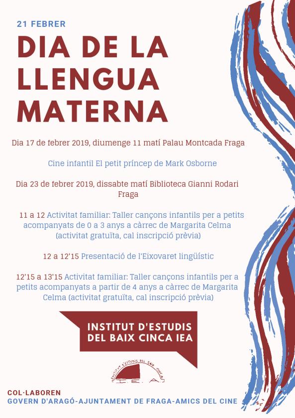 Dia de la Llengua Materna a Fraga
