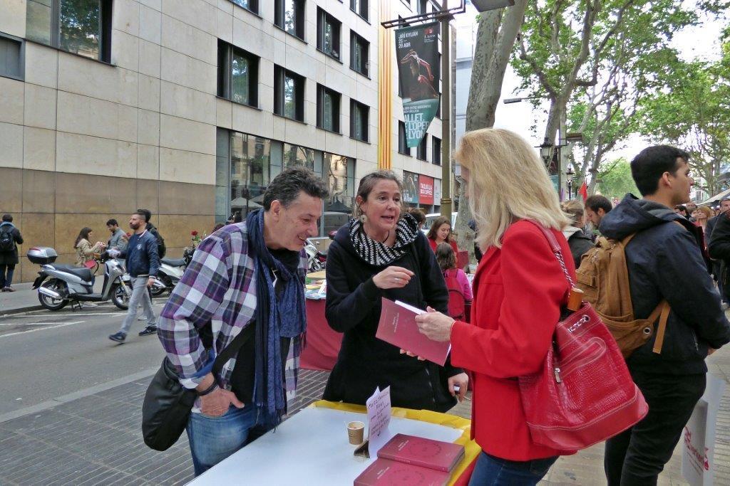 Un Sant Jordi aragonès 2019 a Barcelona
