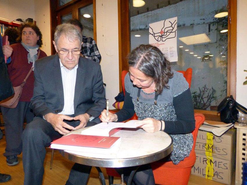 Presentació a Barcelona de la novel·la 'Arbàgel. Un revolt de l'amor'