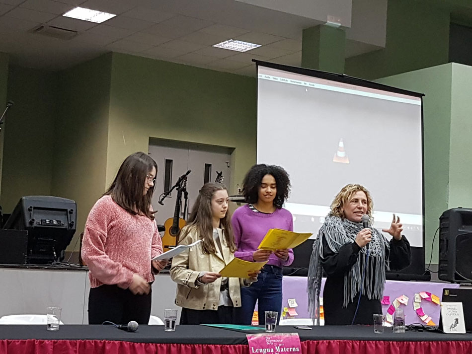 La Franja reivindicà el Dia de la Llengua amb una gran participació