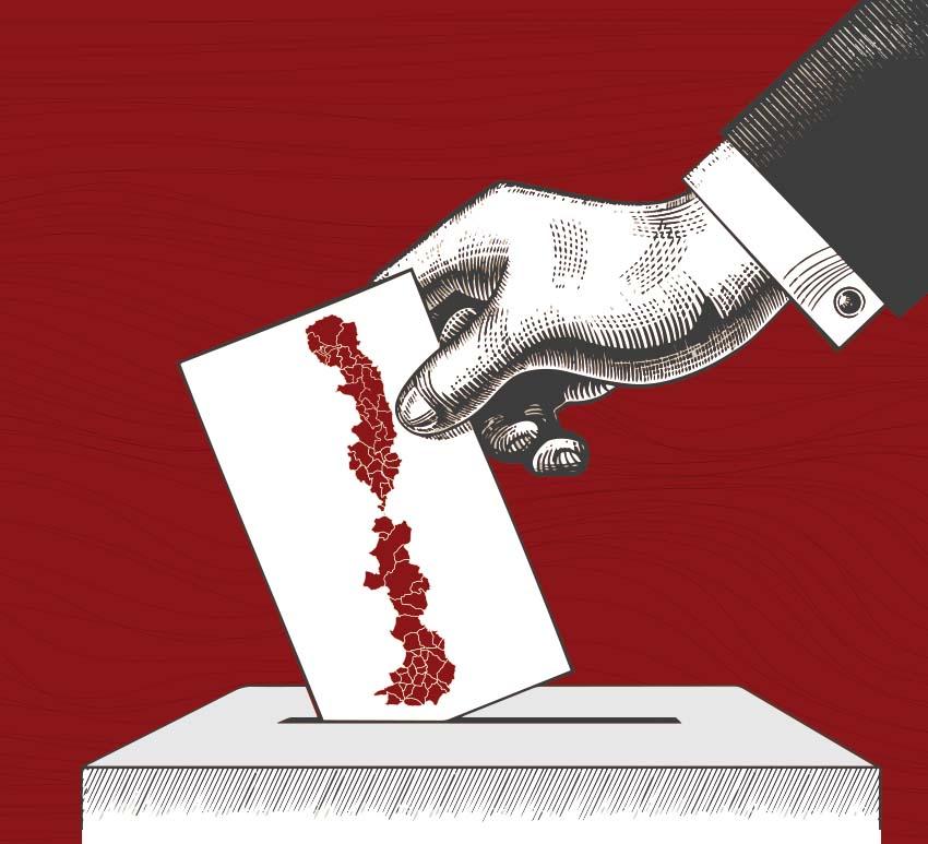 Les eleccions municipals dibuixen una Franja de dos colors (i mig)*