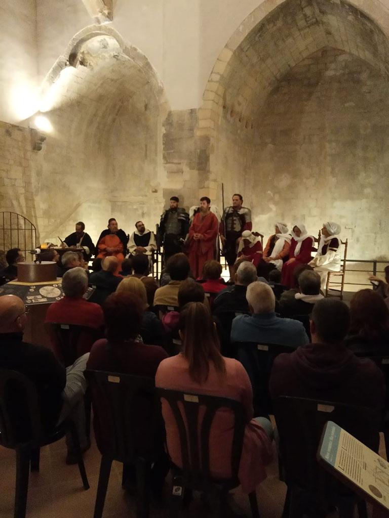Nomenament de l´últim comte de la Ribagorça al castell de Benavarri