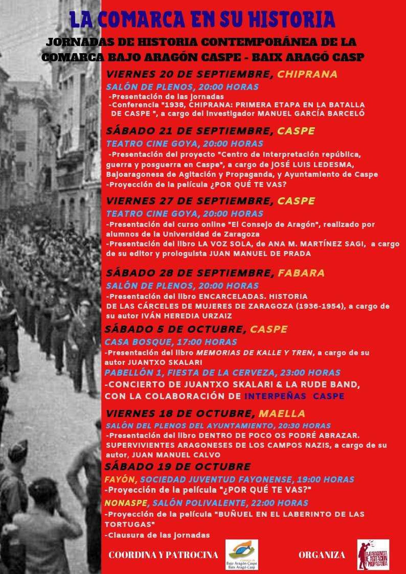 La història al dia al Baix Aragó-Casp*