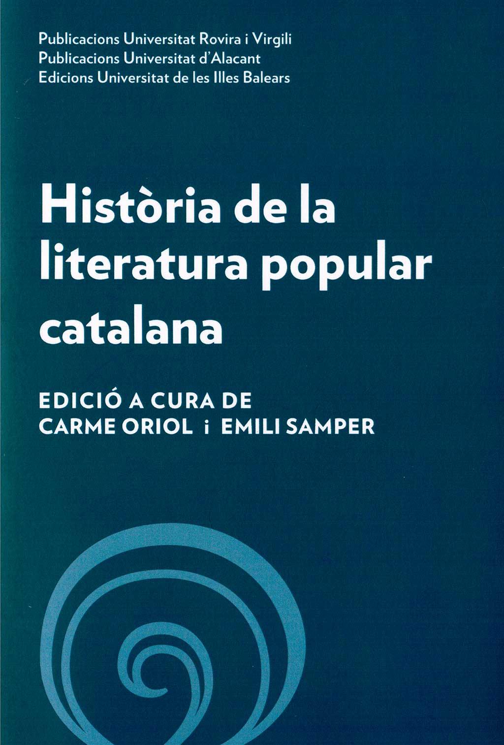 Història de la literatura popular catalana*