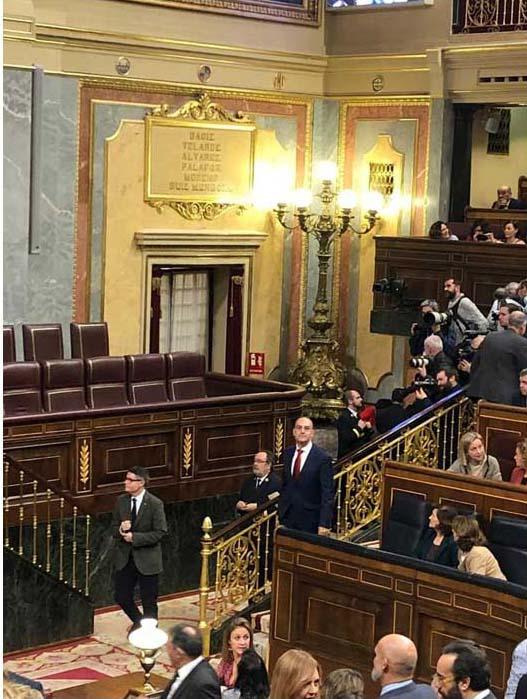 L'alcalde de Benavarri diputat a les Corts Generals de l'Estat