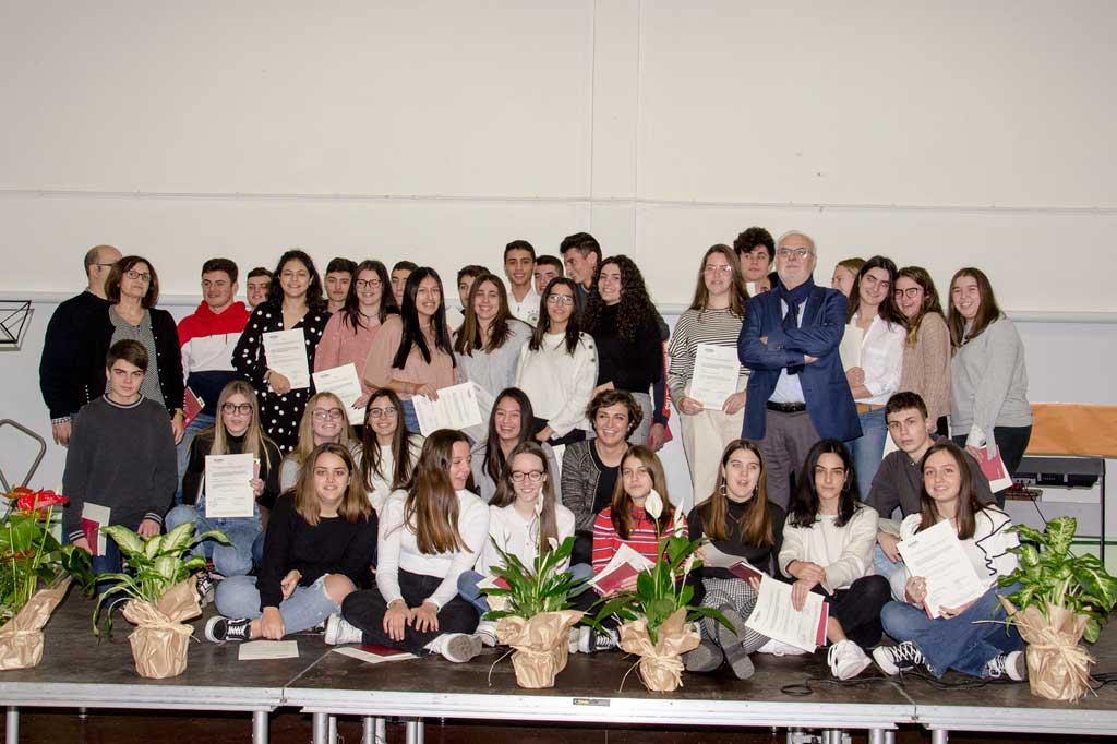 Els alumnes de la Franja reben el certificat B2 de català