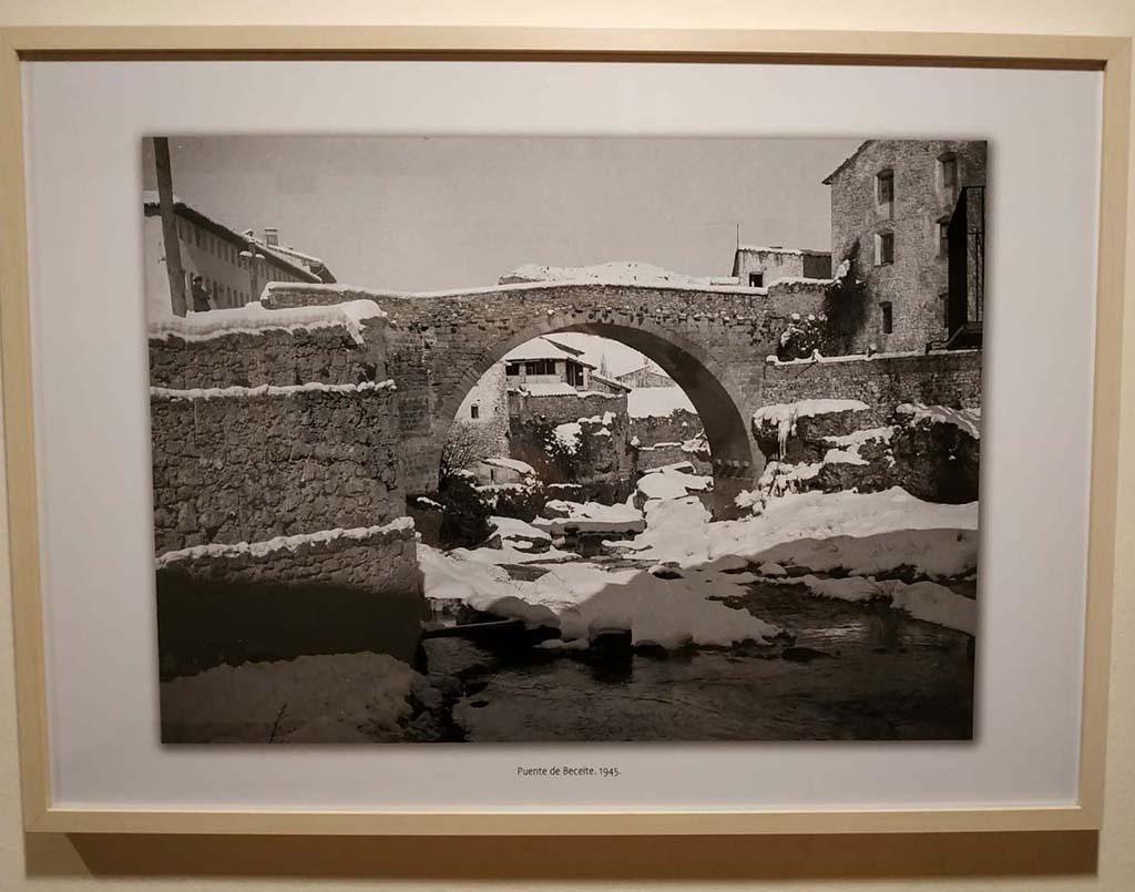 Miguel Perdiguer al museu Juan Cabré