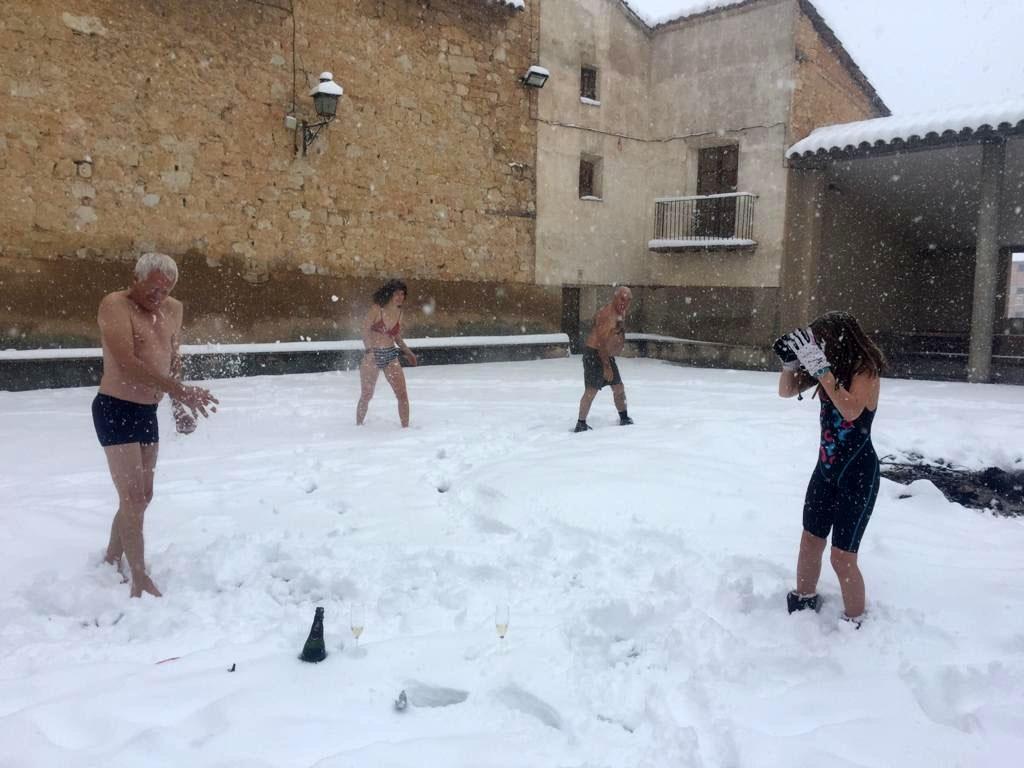 Neu i bon humor a Torredarques, malgrat tot