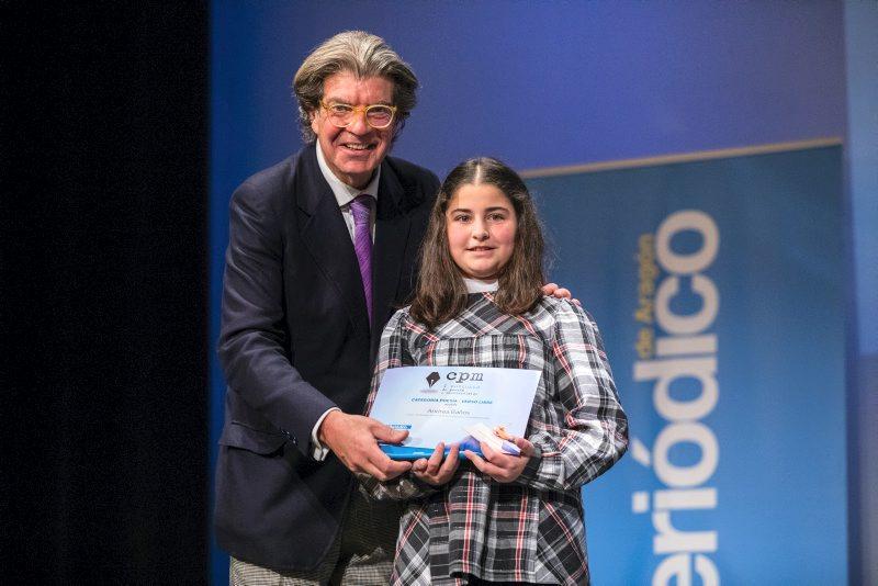 Andrea Baños, de Benavarri, guanya el premi de poesia de 'El Periódico de Aragón'