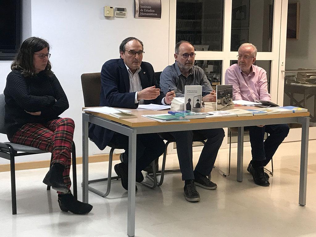 Presentació de dos llibres a Alcanyís
