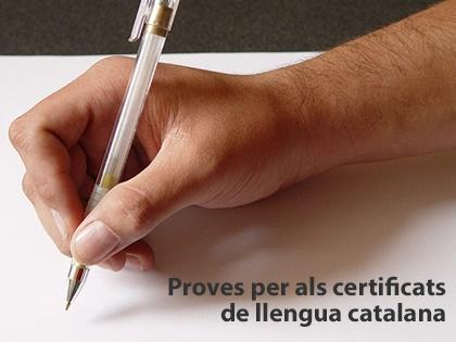 Proves pels certificats de català B2 i C1 a Fraga