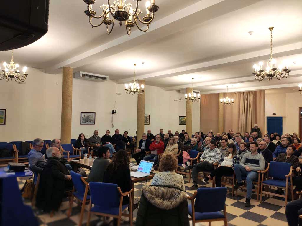 Xerrades informatives a Valljunquera i la Freixneda sobre els parcs eòlics