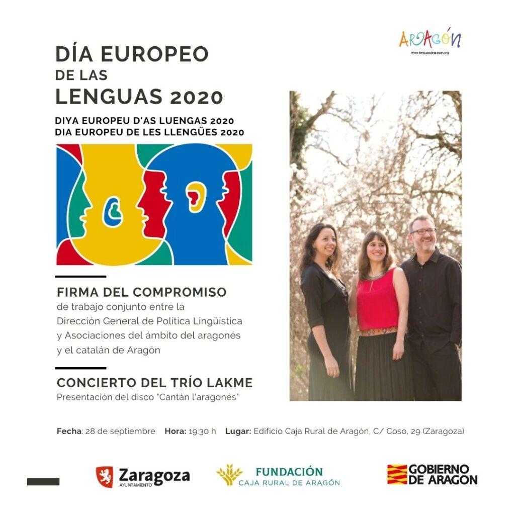 Celebració del Dia Europeu de les Llengües 2020