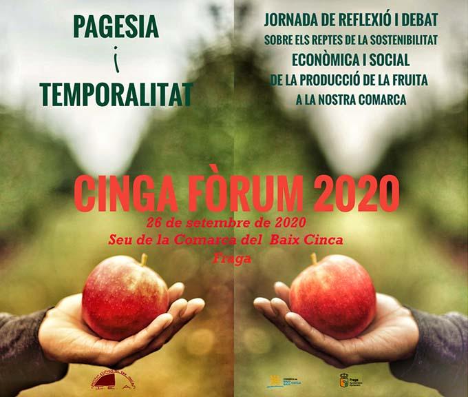 "Jornada Cinga Fòrum: ""Pagesia i temporalitat: un altre camí"""
