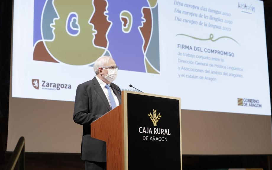 El govern d'Aragó signa vuit convenis amb sindicats i entitats socials per a la promoció de les llengües pròpies