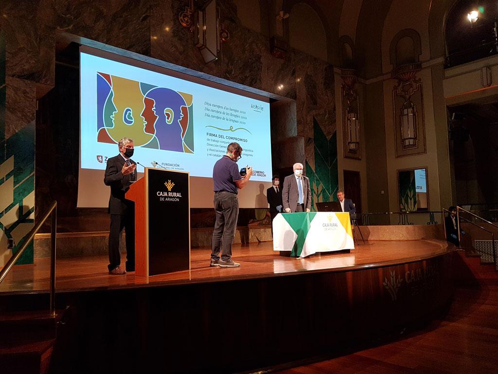 Aragó se suma a la celebració del Dia Europeu de les Llengües