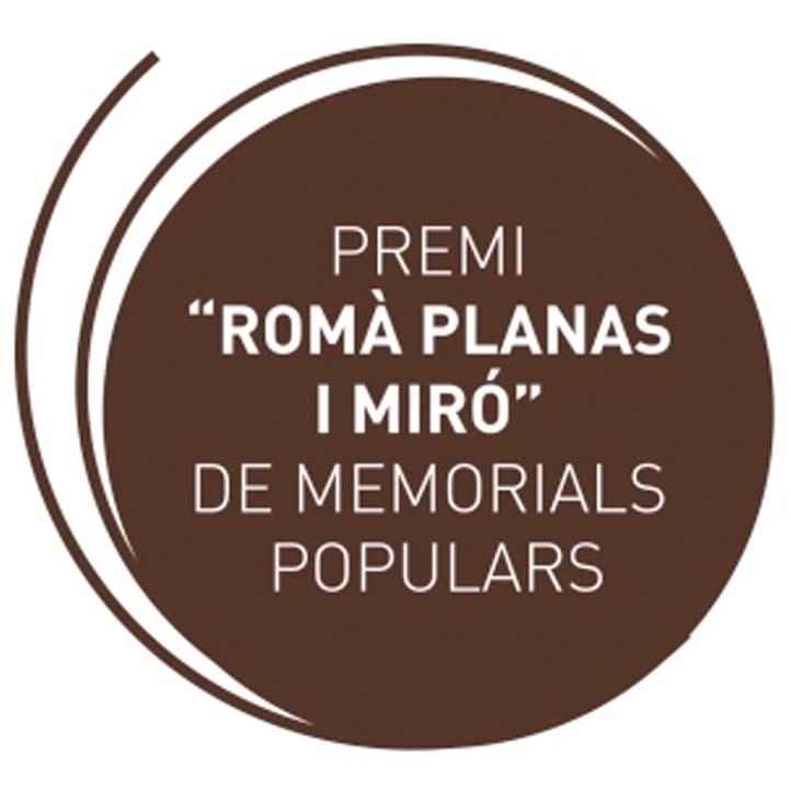Premi Romà Planas i Miró de Memorials Populars
