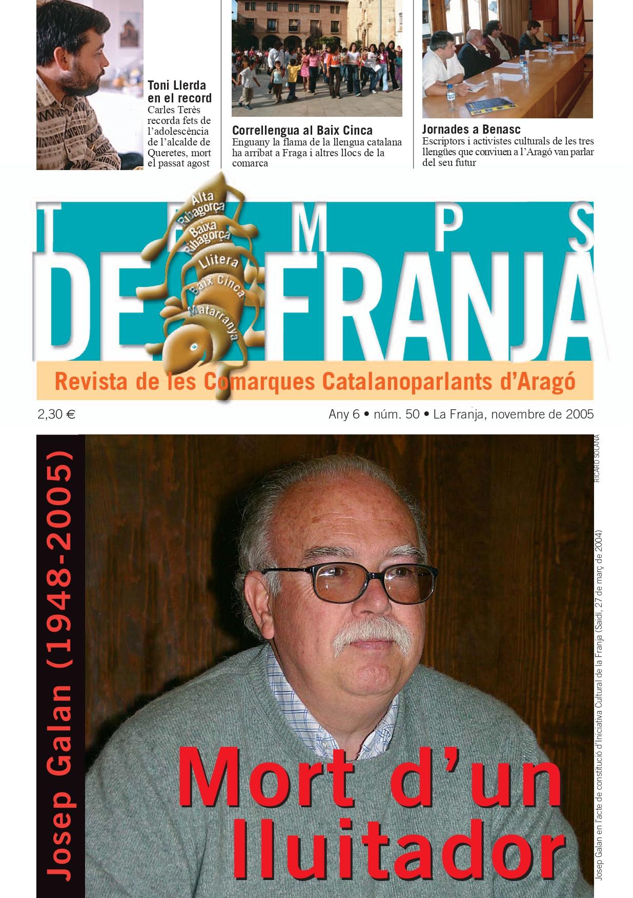 Explicant en català la vida de la comarca*