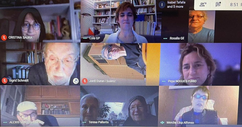 II Jornades de Literatura Catalana a l'Aragó. Desideri Lombarte i Rosalia Gil
