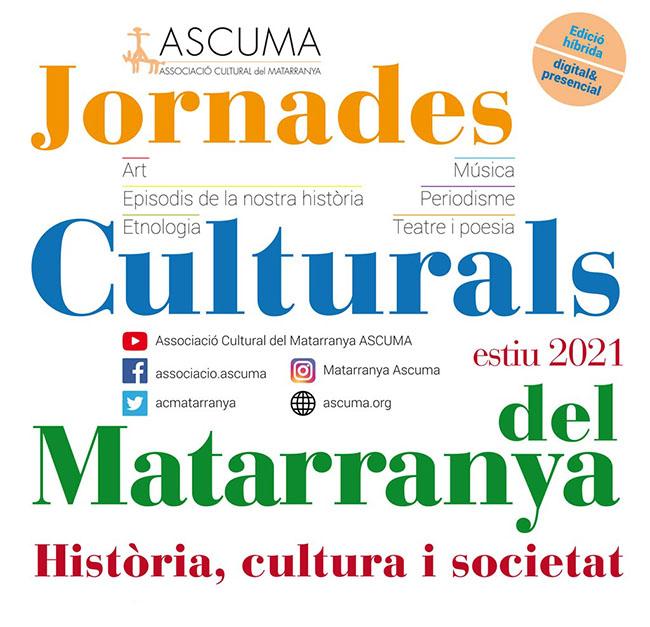 Jornades Culturals del Matarranya 2021