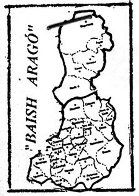 El PAR, ara diu «Aragonés Oriental»*
