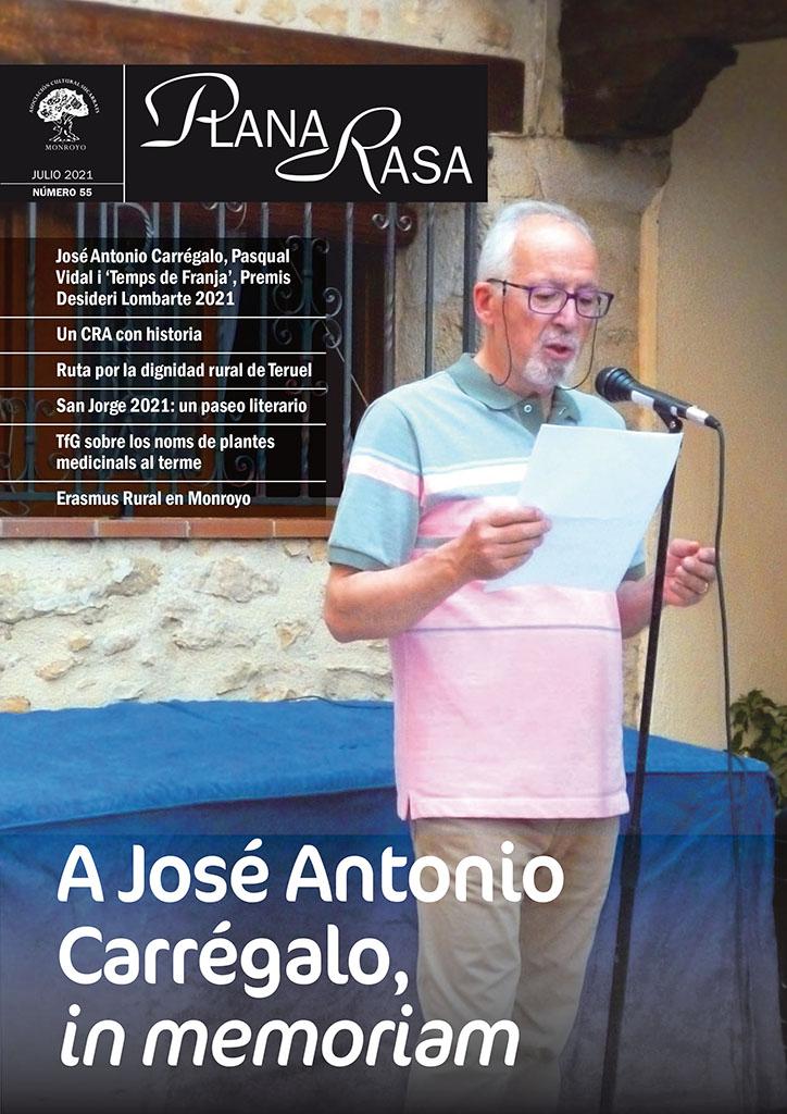 'Plana Rasa' en homenatge a José A. Carrégalo